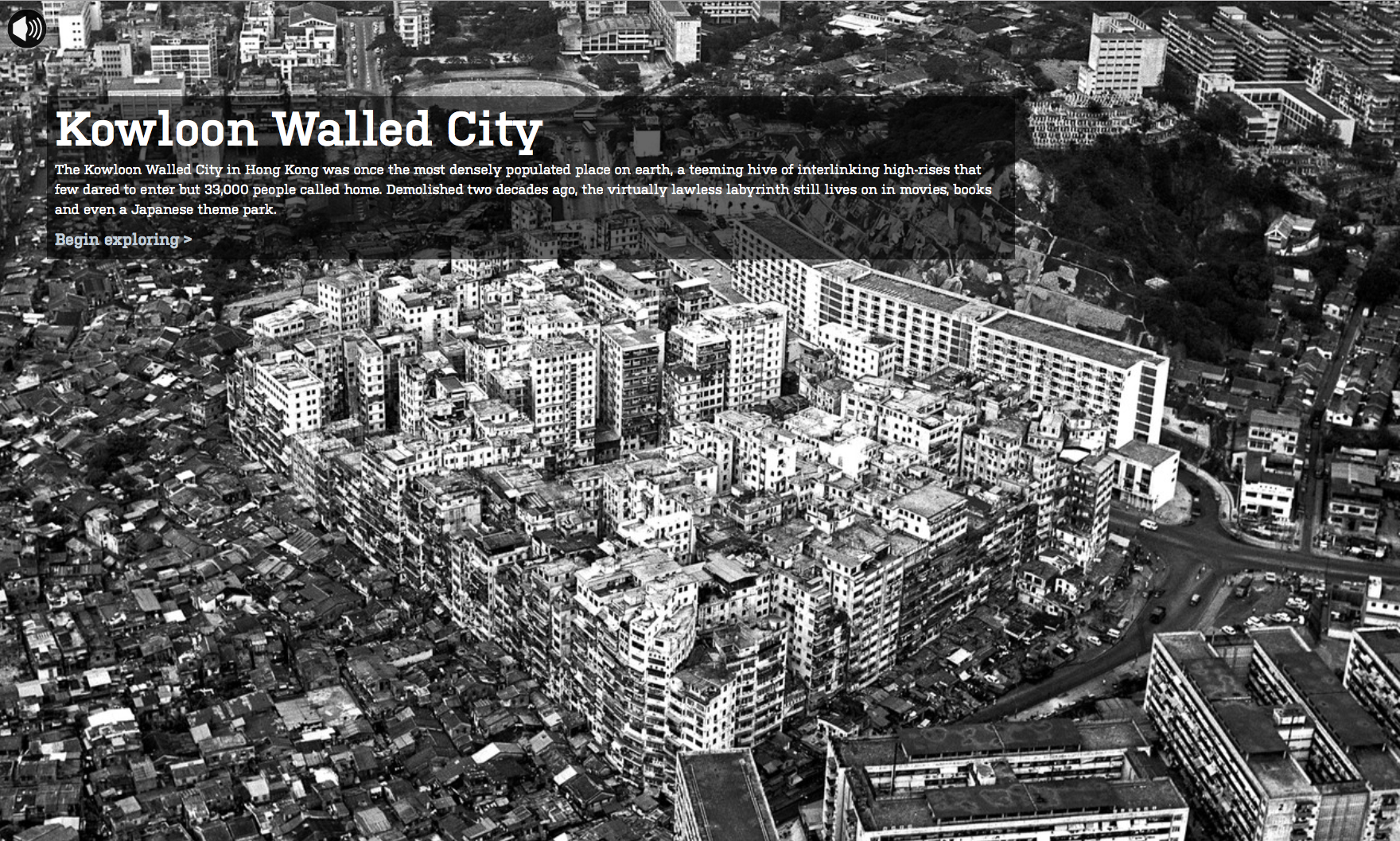 Kowloon Walled City Wsj Digital Storytelling Index