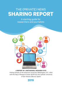 The (Private) News Sharing Report