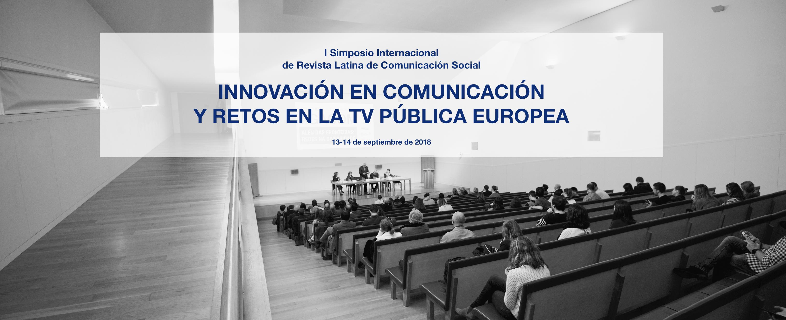 I Simposio Internacional de Revista Latina de Comunicación Social