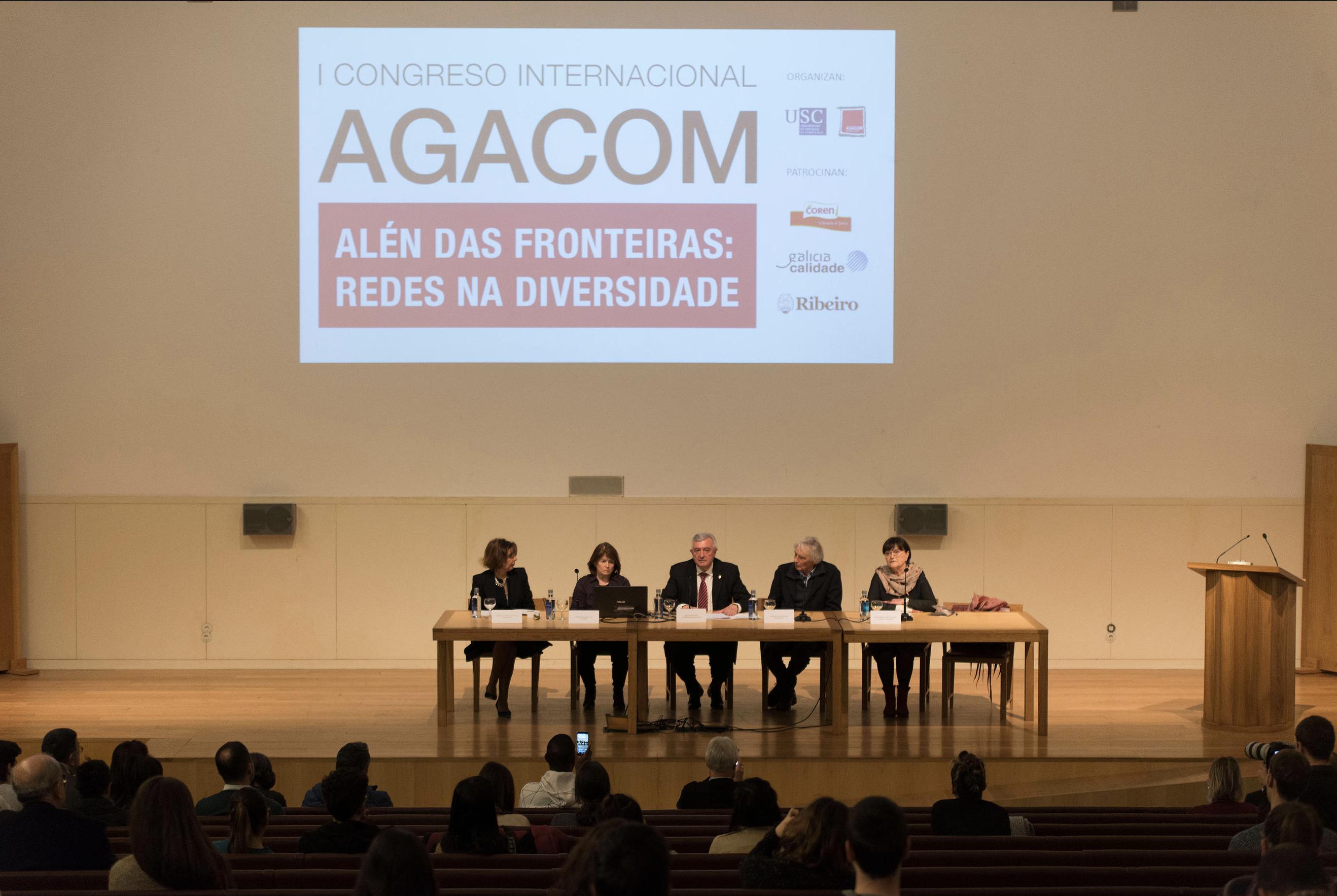Celébrase o I Congreso Internacional AGACOM