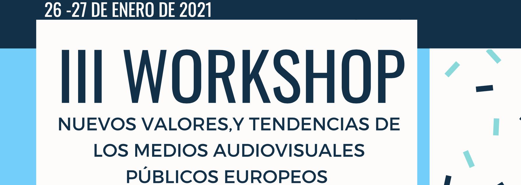 Días 26 y 27: Congreso virtual sobre los valores y tendencias de los medios audiovisuales públicos